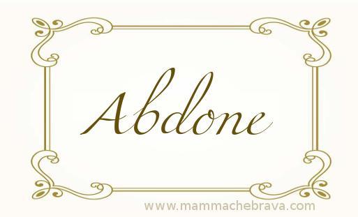 Abdone