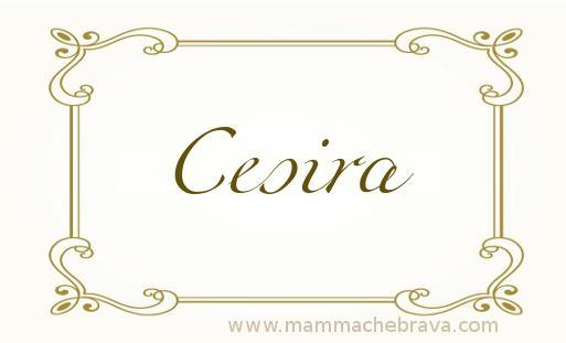 Cesira