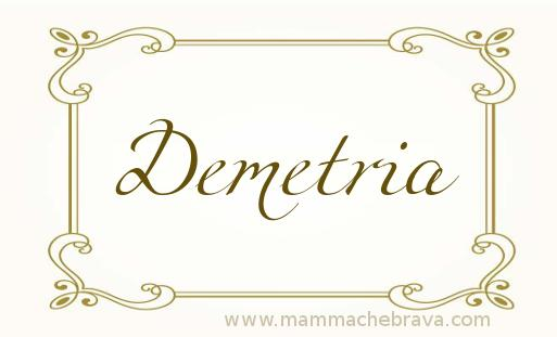 Demetria