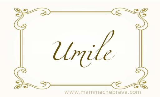 Umile