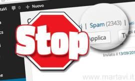WordPress – Ridurre lo spam nei commenti