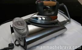 Riparare il ferro da stiro con caldaia