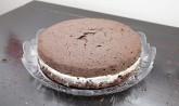 Torta cacao e panna