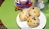 Muffin con goccie di cioccolato