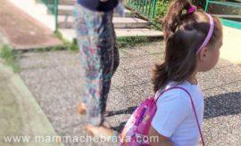 Ritorno a scuola con le scarpe Pisamonas