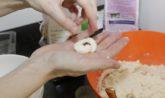 palline cocco e nocciola
