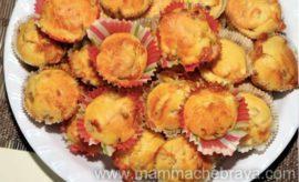 Muffin peperoni e provola, ricetta veloce