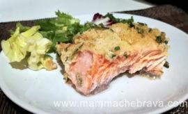 Salmone al forno gratinato: facile e veloce da preparare