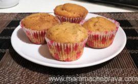 Muffin soffici variegati al cioccolato, ricetta riciclosa!
