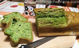 Plumcake agli spinaci e formaggio